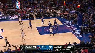Brooklin Nets desarmam Philadelphia 76ers