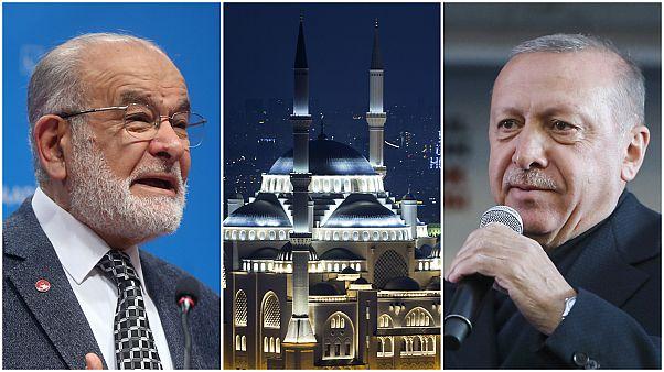 Cumhurbaşkanı Erdoğan ile Temel Karamollaoğlu arasında 'Çamlıca Cami' tartışması