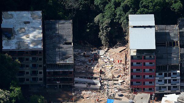Colapso de prédios no Rio sob investigação