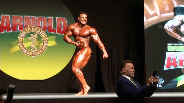 Festival de homenagem a Schwarzenegger junta 12 mil atletas