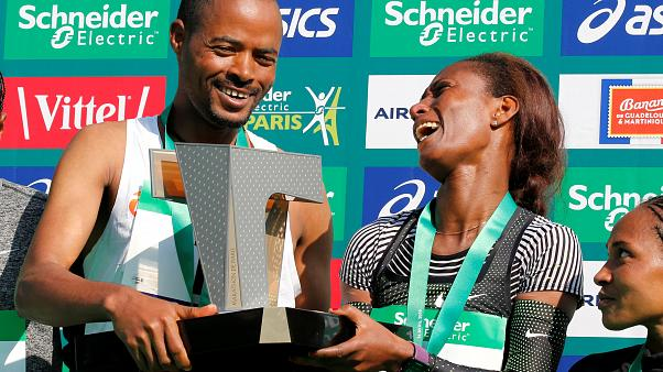 Marathon de Paris : doublé éthiopien