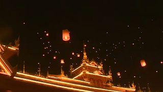 Festival Songkran, Jinghong, China
