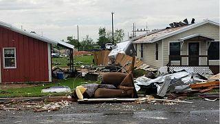 Le Texas touché par une violente tempête
