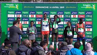 Etíopes dominam Maratona de Paris
