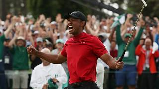 Tiger Woods wins Masters in first major victory in 11 years