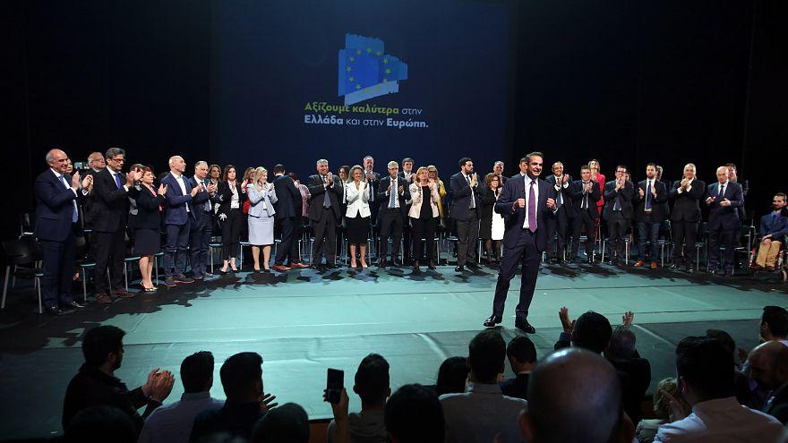 Παρουσίαση υποψήφιων ευρωβουλευτών της ΝΔ