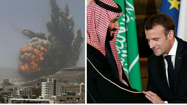 Suudi Arabistan, Fransız silahlarıyla Yemen'i vuruyor