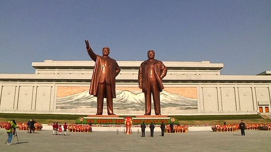 ۱۰۷امین سالگرد تولد بنیانگذار کرهشمالی برگزار شد
