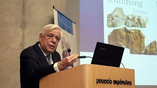 """Πρ. Παυλόπουλος: «Τα Γλυπτά του Παρθενώνα κρατούνται ως """"λάφυρα"""" της κλοπής του Έλγιν!»."""