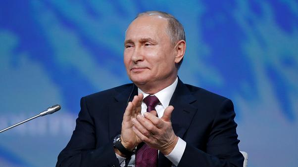 How much does Vladimir Putin earn? Not as much as last year...