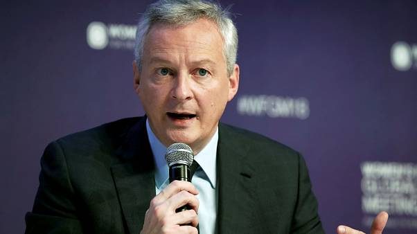Bruno Le Maire, ministro de Economía francés