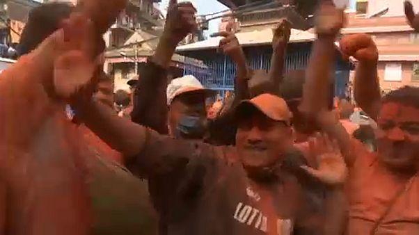 Nepal celebra el Año Nuevo