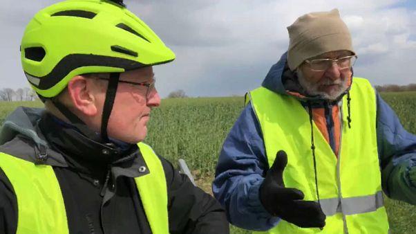 Ouvir cidadãos no caminho para Estrasbugo... de bicicleta