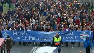 The annual March of the Living commemorates victims of the Holocaust