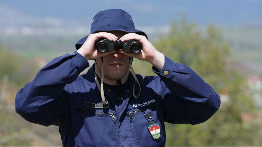 Magyarok is védik a szerb határt Észak-Macedóniánál