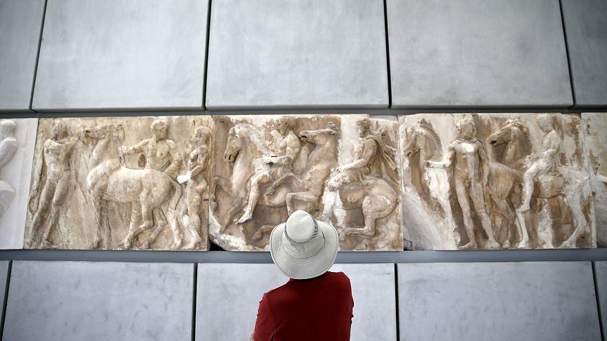 Musée de l'Acropole à Athènes, mai 2015