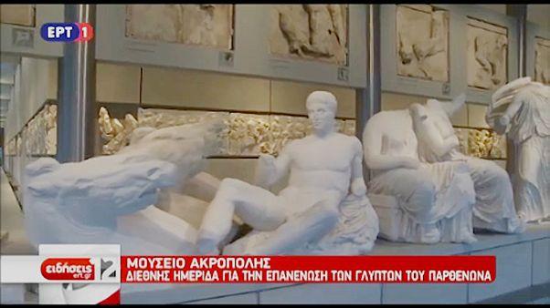 Elszántan követelik a görögök az Akropolisz szobrait