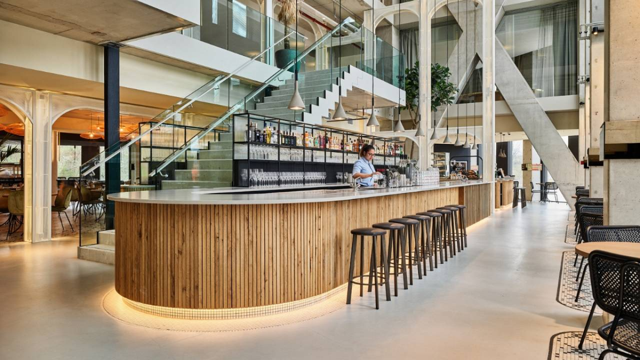 What makes Amsterdam's first sustainable hotel so special?