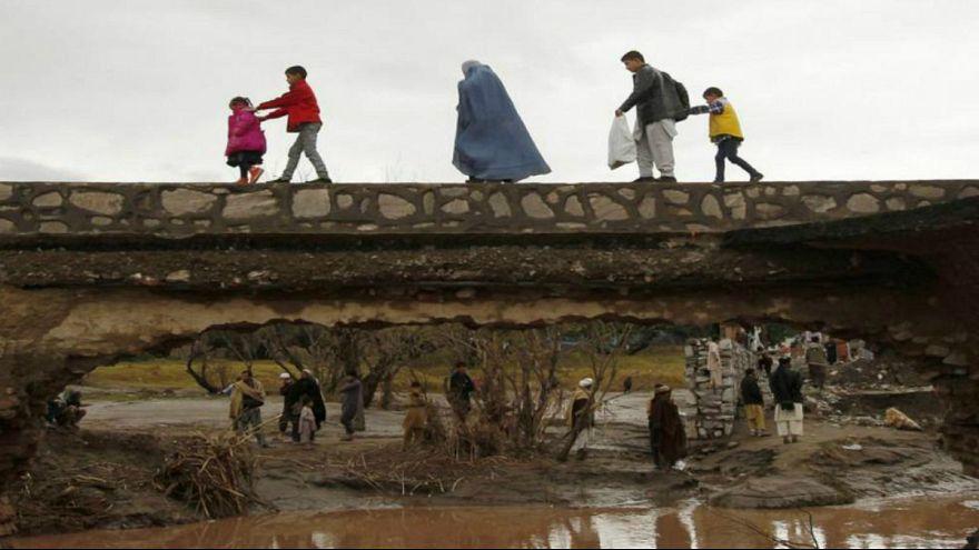 تشدید بارش و هشدار سیل در ۲۲ ولایت افغانستان