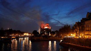 Παγκόσμια συγκίνηση για την φωτιά στην Παναγία των Παρισίων