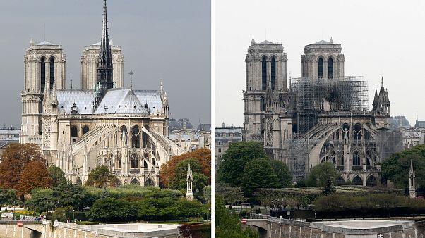 INTERATTIVO: Notre-Dame prima e dopo: il confronto