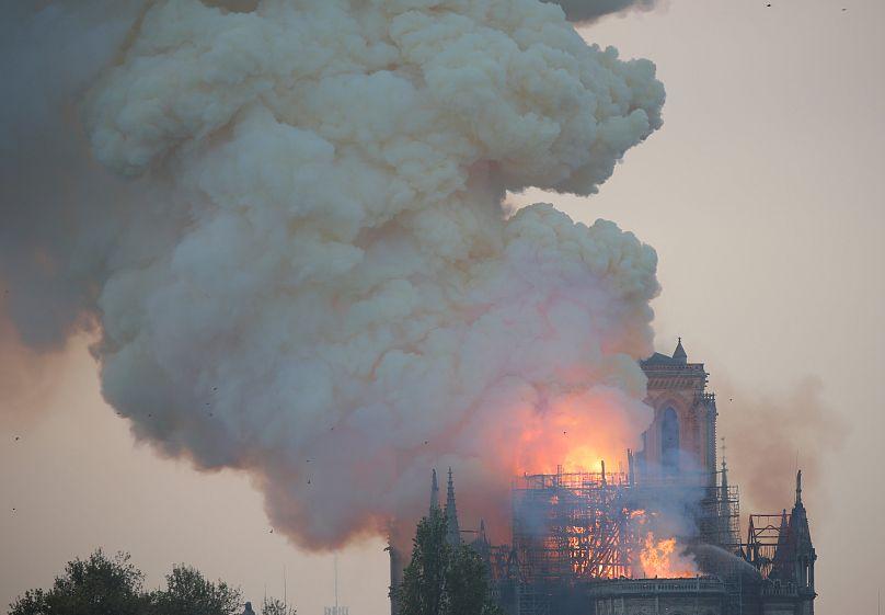 Paris: Notre-Dame in Flammen - Das sind die Reaktionen