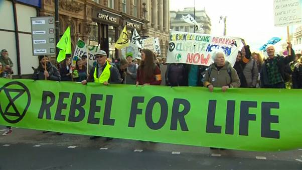 شاهد: أنصار البيئة في مواجهة مع الحكومة للحفاظ على البيئة