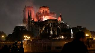 Why using a water-bombing aircraft could not be used to save Notre Dame
