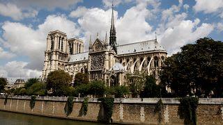 کلیسای نوتردام پاریس قبل از آتشسوزی