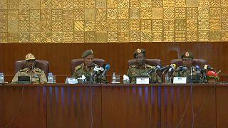 أربعة من قادة المجلس العسكري في السودان