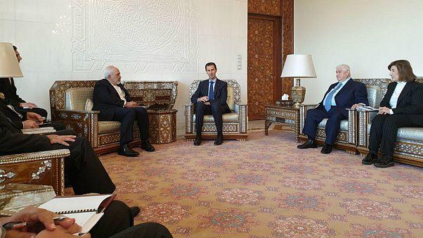 ظریف در دمشق: باید با کشورهای معتقد به حقوق بینالملل و نه قانون جنگل همکاری شود