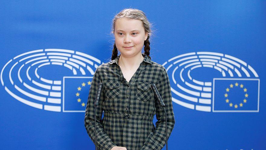 16 yaşındaki çevreci aktivist Greta Thunberg Avrupa turunda: İlk adres AP, Papa ile de buluşacak