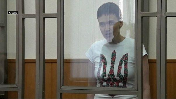Ex-Soldatin Sawtschenko aus U-Haft entlassen