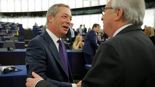 Farage predicts 'new future for British democracy' on 23 May as MEPs debate Brexit