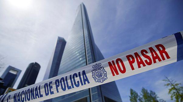 Madrid'de büyükelçiliklerin bulunduğu binadaki bomba ihbarı asılsız çıktı