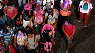 Una nueva caravana de migrantes desafía a Trump