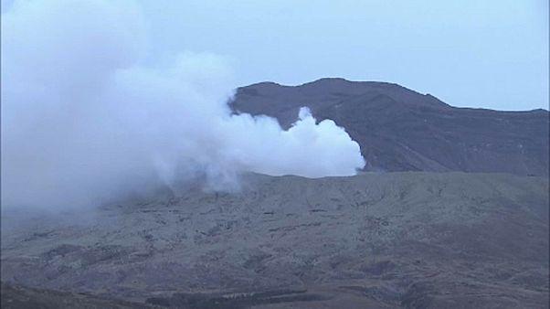 Kitört az Aszo, Japán legnagyobb működö vulkánja