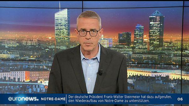 Euronews am Abend vom 16.04.2019