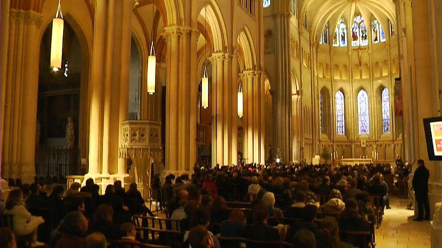 Messe in der Kathedrale Saint-Jean in Lyon