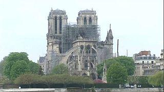 """Macron: """"Reconstruiremos Notre Dame en cinco años"""""""