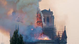 Notre Dame fire: Global contest launched to design new spire for blaze-hit cathedral