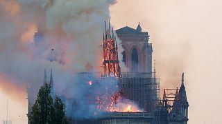 Παναγία των Παρισίων: Η επόμενη ημέρα μετά την καταστροφή και η δέσμευση Μακρόν