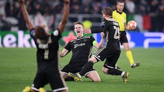 Ajax vence Juventus e apura-se para as meias-finais da Liga dos Campeões