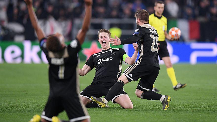 Juve fliegt nach 1:2 gegen Ajax aus der Champions League