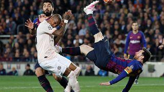 دوري أبطال أوروبا: برشلونة يقصي مانشستر يونايتد وأياكس يطيح بيوفنتوس