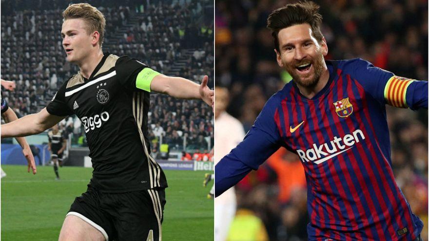Şampiyonlar Ligi'nde Ajax tarih yazdı, Barcelona Messi ile turladı