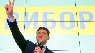 Komiker gegen Oligarch - Showdown bei ukrainischer Präsidentenwahl