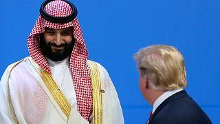 Muhammed bin Selman, ABD Başkanı Trump