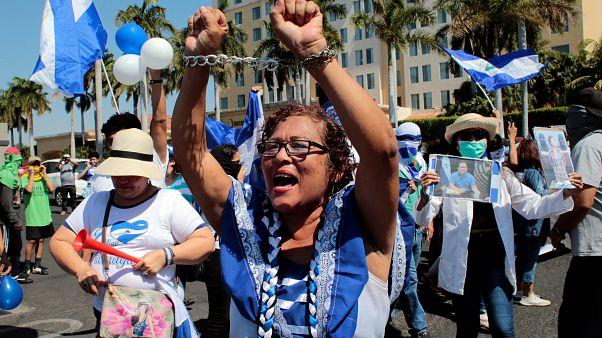 Manifestación contra Daniel Ortega en Managua (30/03/2019)