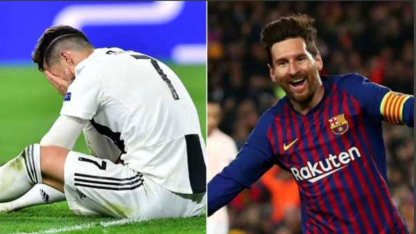 Champions League: Messi IN, Ronaldo OUT